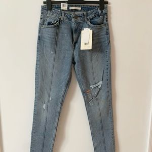 Levi's 761 Vintage High Rise Skinny Jeans
